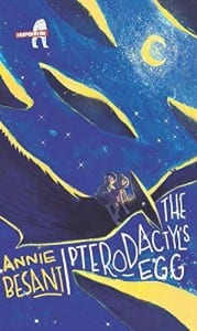 The Pterodactyl's Egg, Annie Besant, story for kids, cover