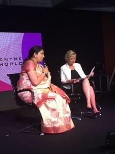 Smriti Irani, Tina Brown, Women In The World