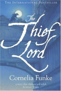 the thief lord, cornelia funke, book, cover, review