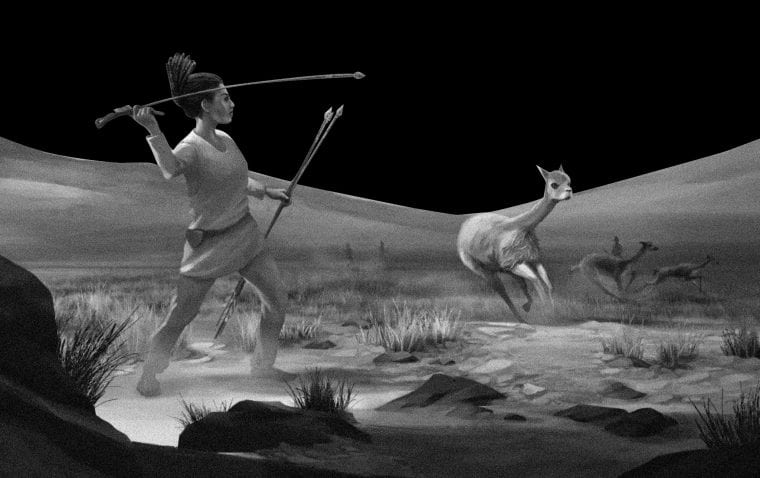 Ancient burial hints prehistoric women may have hunted as much as men